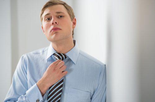Business man en cravate