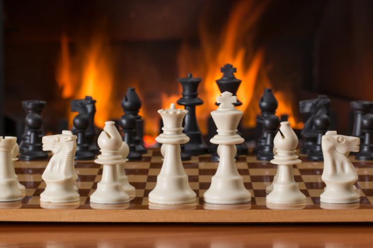 jeu échecs - histoire de l'art
